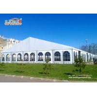 China Easy Instalaltion  400 People  Aluminum Wedding Marquee Tent With Clear Window Sidewalls for sale