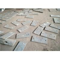 Quality 1x9x18 High Cr ME15-1 Wear Plates Hardness More Than HB601 For Milling Industry for sale