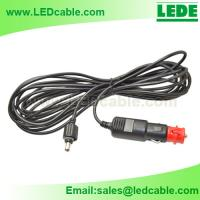 Quick Connect Cable with Cigarette Connector For LED camp light for sale
