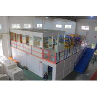 Quality Commercial Multi - Level Mezzanine Pallet Racking Upper Floor With Office for sale