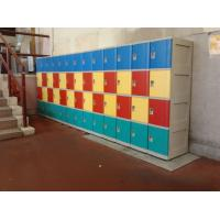 Quality Graffiti Proof 4 Tier Yellow Plastic School Lockers No On - Site Assembly for sale