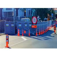 Quality Cut Edge Temporary Noise Acoustic Barriers Reduction of 25dB 30dB even 40 dB for sale