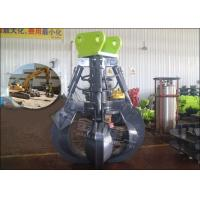 Quality SANY Excavator Rotating Grapple 60-120 Lpm Non Swing Bulk Material Handling for sale