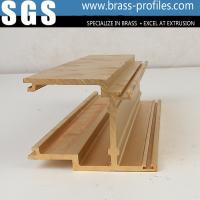 Buy cheap Durable Decorative Copper Brass Profiles Brushing Brass Sections from wholesalers