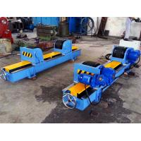 Quality Customized Lead Screw Adjustment Pipe Welding Rotator , 10T 90 Inches Tank Turning Rolls for sale