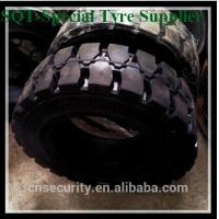 China 4.00-8-3.75solid tire for forklift use,pattern no.f822 on sale