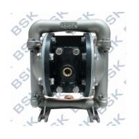 Quality Air Drive Stainless Steel Diaphragm Pump High Viscosity Double Diaphragm Pump for sale