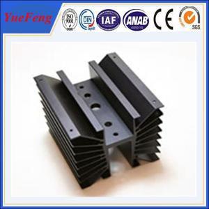 Quality OEM cnc machined aluminum parts profile of aluminum radiator for sale