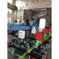 Quality High Speed Straight and Reverse Twisted Barbed Wire making  Machine for sale
