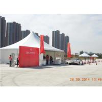 Quality 10 X 10m Aluminium Pagoda Party Tent Clear Span Flame Retardant For Car Event Show for sale