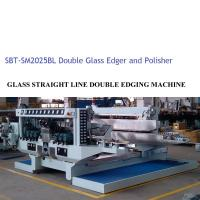 Quality Glass Double Edger Glass Processing Equipment / Glass Processing Plant,Glass Double Edger ,Straiight Line Glass Edger for sale