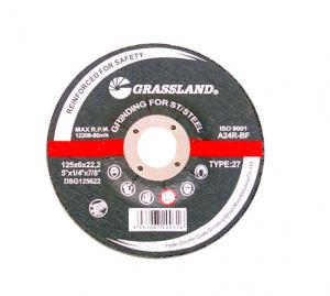 Quality Grassland 125X6mm Stainless Steel Grinding Cut Off Wheels for sale