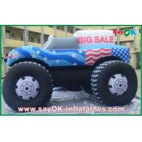 Quality Logo Printing Custom Inflatable Products , Advertising Waterproof Inflatable Car for sale