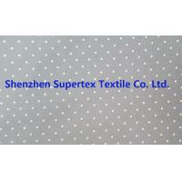 Buy Cotton Twill Dot Print Elastic Stretch Fabric 32S 40D 180GSM at wholesale prices