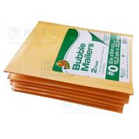 Quality Retail Shrink Pack Kraft Bubble Mailer 2pk #0 With Custom Label for sale