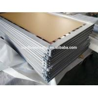 Quality Cutting aluminum screen frame with miter saw, 2018 Extruded aluminum screen frame stock china aluminum extrusion for sale