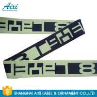 Quality Printed Elastic Waistband 20MM - 50MM Jacquard Elastic Waistband For Underwear / Cothing for sale