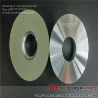 Quality Ceramic bonded diamond grinding wheel polishing hard and brittle workpiece Alisa@moresuperhard.com for sale