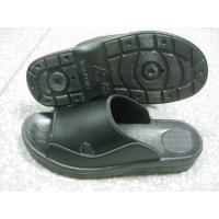 Quality Hard Fold ESD Black SPU Anti Static Safety Shoes No Raising Dust For Enterprise Units for sale