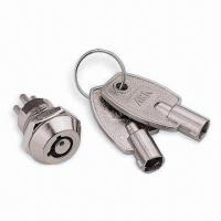 Buy cheap Miniature Lock with Zinc Alloy Barrel from wholesalers
