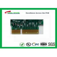 Buy Printed Circuit Board Double Sided PCB 6 Layer Lead Free HASL + Gold Finger at wholesale prices