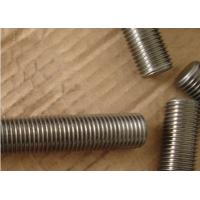 Quality stainless SS 317 gasket threaded rod screw for sale