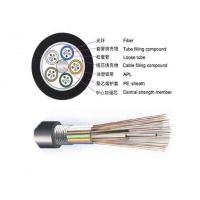 Buy cheap 96 / 144 Core Outdoor Fiber Cable Armoured GYTS GYTA ROSH Certification from wholesalers