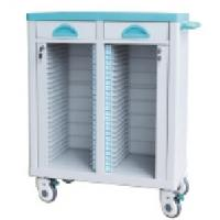 Quality ABS High Quality Hospital Trolley Cart, Medical Cart with Wheels for sale