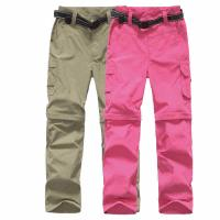 Quality Outdoor Sport Quick Drying Disassemble Children Pants for sale