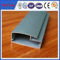 Quality aluminum profile for kitchen cabinet glass door for sale
