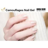 Quality Long Lasting Uv Gel Builder , Nail Salon Gel Polish Camouflage For DIY Art for sale