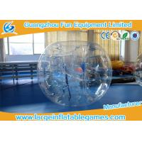 Quality 1.2m PVC / TPU Inflatable Bubble Ball For Games , Human Bumper Balls for sale