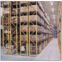 Quality High Density Storage Rack / Garage Storage Shelves 500KG-5000KG/Layer Power Coating for sale