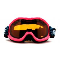 China Pink Waterproof UV Protection Kids Ski Goggles Helmet Compatible with CE certificate on sale