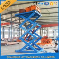 Buy cheap 3T 5M Stationary Hydraulic Scissor Lift from wholesalers