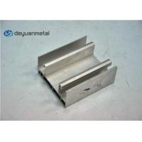 Quality Thickness 1.6mm Aluminium Extrusion Profile , Aluminum Window Frame Extrusions for sale