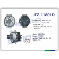 Quality 06E903016G Audi Car Alternator 11162 TG17C023 06E903016L 06E903016K 12V 180A for sale