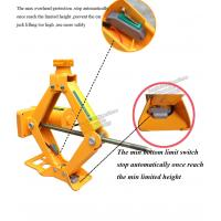 automatic emergency tools2 tons electric scissor lifting car single jack with
