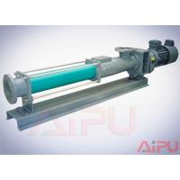 Quality Aipu solids APG series S.S screw pump for centrifuge in drilling mud system for sale