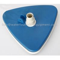 Quality Triangular Liner Swimming Pool Accessories Vacuum Head With Swivel Cuff for sale