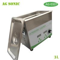 Quality 3L 120W Sonic Wave Ultrasonic Cleaner Lab Dental Hospital Use Power Adjustable for sale