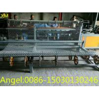 Quality 4m width double wire feeding Fully Automatic Chain Link Fence  Machine for sale