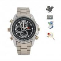 Quality High Quality Stainless Steel Wrist Spy Camera Watch Camcorder DVR -- Japanese Movement for sale