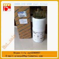 Quality komatsu 600-319-4500 fuel filter for pc400-7 pc450-7 excavator for sale