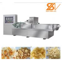 Quality Stable Performance Corn Flakes Production Line / Cereal Bar Making Machine for sale