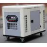 Silent air cooled 20kw portable gasoline generator 4 stroke OHV two cylinder engine genset for sale