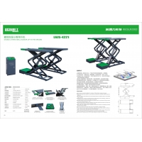 Quality 380/220V 4.2T Double Layers 25Mpa Car Lift Machine for sale