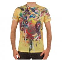 oem service polyester men t shirts full sublimated fashion t shirts cheap tee shirts made in china for sale
