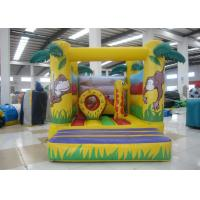 Quality Standard  Kids Inflatable Bounce House Castle Happy Jump Bounce 3 X 3.5 X 3m EN14960 for sale
