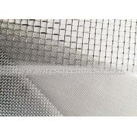 Quality Nickel Plain/Crimped Weave Wire Screen Mesh Acid Alkali Abrasion Resistance For Electrolysis for sale